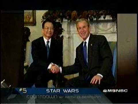 China Sparks Arms Race in Space? Countdown w Keith Olbermann