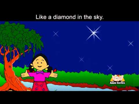 Twinkle Twinkle Little Star Nursery Rhyme Karaoke