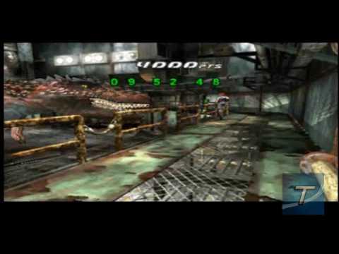 Dino Crisis 2 (PS1) Walkthrough Part 12 - Encounter with the Giganotosaurus