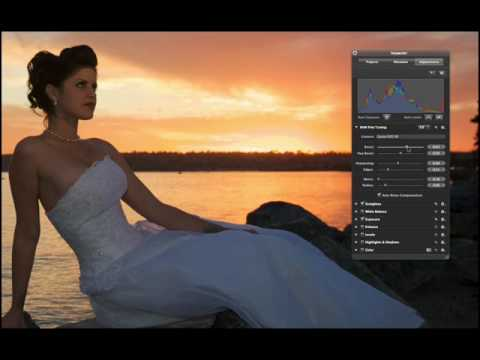 Aperture 2 Tutorials : 3.1.1 - Ajust - Image Editing - Using RAW Fine Tuning