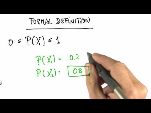 Formal Definition Of Probability 1 Solution - CS373 Unit 1 - Udacity