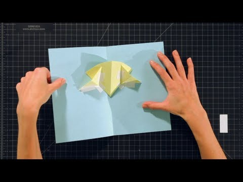 Pop-Up Cards and Crafts: Basic Techniques / V Folds on V Folds