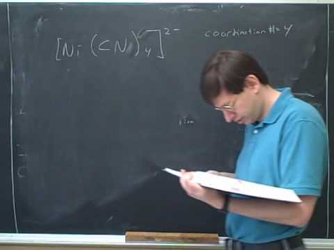 More on transition metals and isomerism (7)