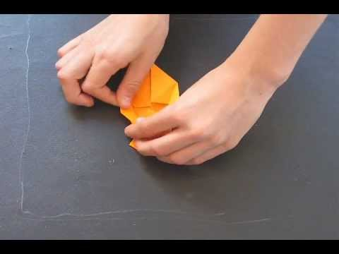 How to fold an Origami Triggerfish designed by Michael Anton