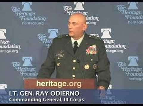 Gen. Odierno on honoring fallen comrades