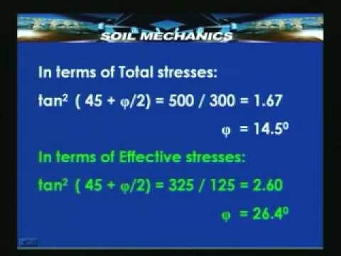 Lecture - 46 Soil Mechanics