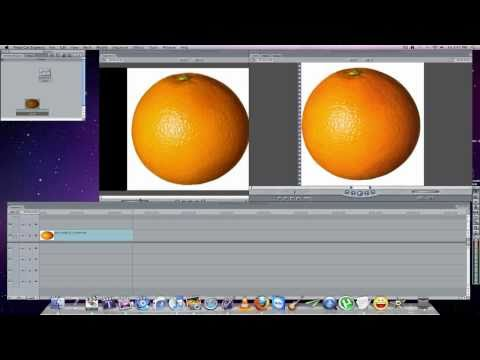 the annoying orange: Tutorial how to create the effect in final cut mac