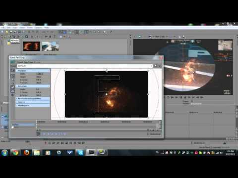 Rippled Fire Ring // Sony Vegas Tutorial // by iGraveYard