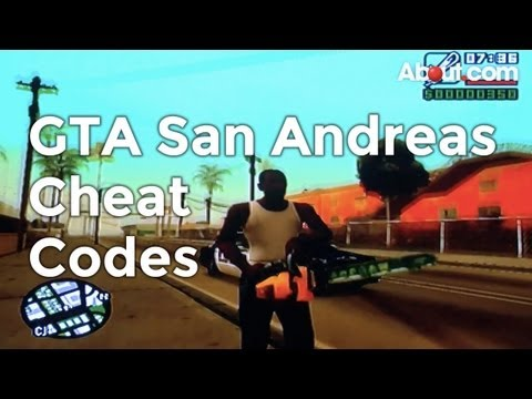 Cheats and Codes for Grand Theft Auto San Andreas on PC