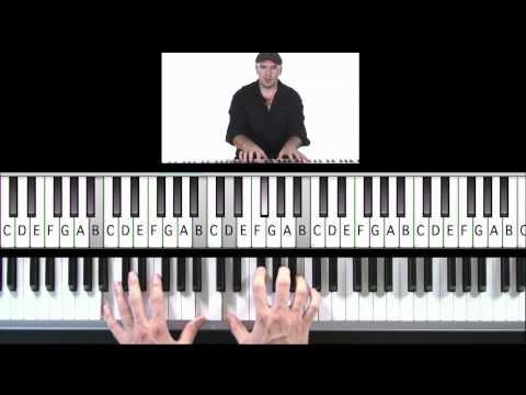 "How to Play ""I'm Coming Home"" by Eminem on Piano"