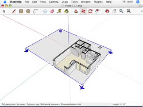 SketchUp: Getting different sectional views