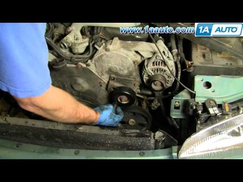 How To Change a Timing Belt Dodge Intrepid 95-97 Part 1 1AAuto.com