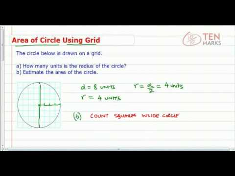 Area of a Circle Using Grids