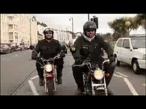 BBC: Isle of Man Biker Invasion - Battle of Waterloo Fact - Hairy Bikers Cookbook