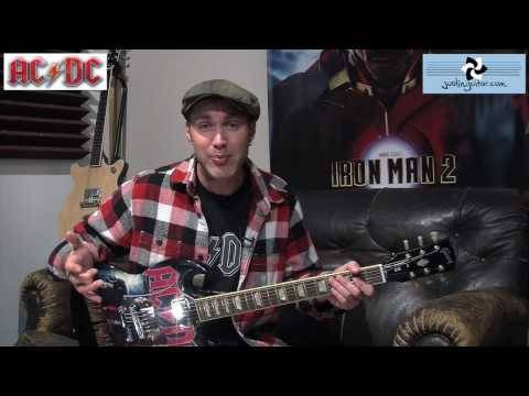 AC/DC - Shoot To Thrill (Competition & Guitar Lesson) How to play