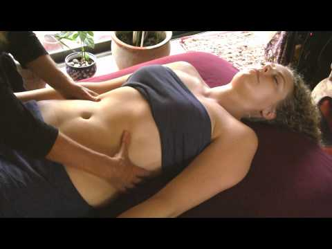 How to Massage Front, Tummy & Upper Chest, Athena Jezik Massage Therapy Techniques