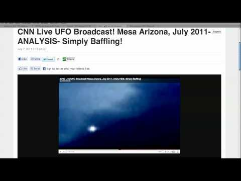 UFO Sightings, July 2011