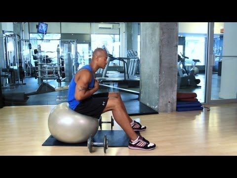 Stability Ball Exercises | How to Work Out at the Gym