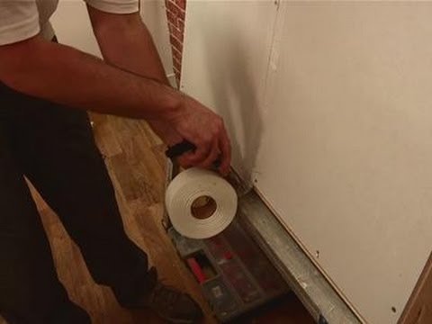 A guide to drywall taping