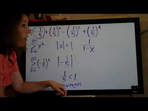 Infinite Series Example 5
