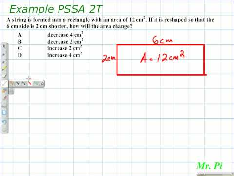 Area of a Rectangle - Change in Length and Its Affect on Area
