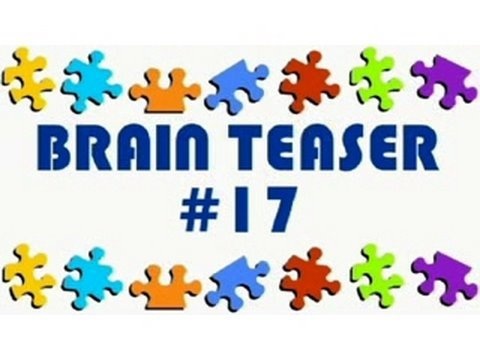 Video Brain Teaser #17