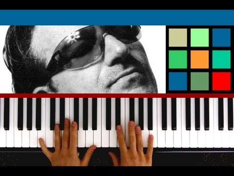 "How To Play ""With or Without You"" Piano Tutorial (U2)"