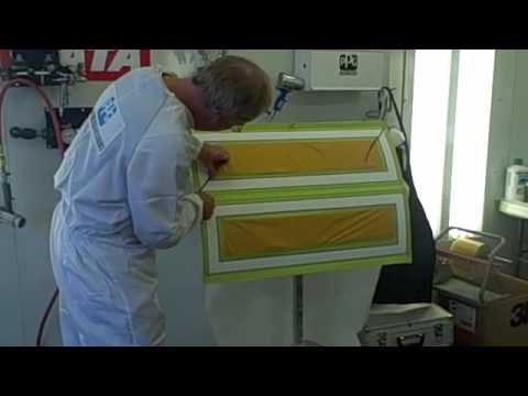 Charley Hutton from Overhaulin' and PPG Demonstrates How To Use Waterborne Paint To Woodgrain