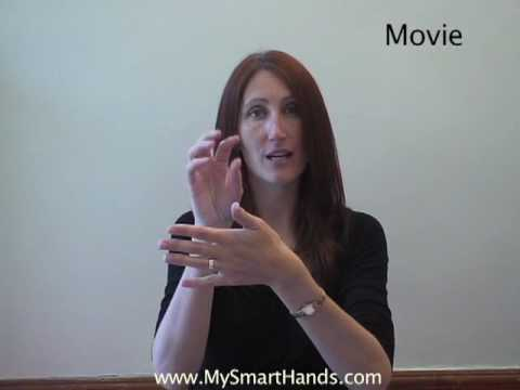 movie - ASL sign for movie