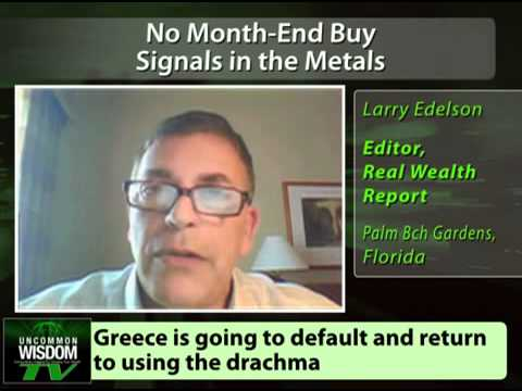 No Month-End Buy Signals in the Metals