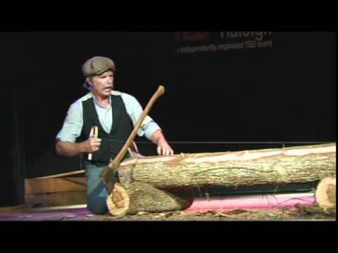 TEDxRaleigh 2011- Roy Underhill- Have Broad Axe Will Travel