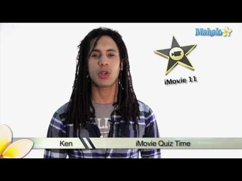 Learn iMovie 11 - Command Shortcut Quiz 4