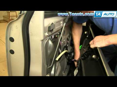 How To Install Replace Remove Front Door Panel Volvo XC90 03-12 1AAuto.com
