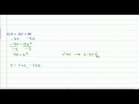 Approximate Solutions to Quadratic Equations