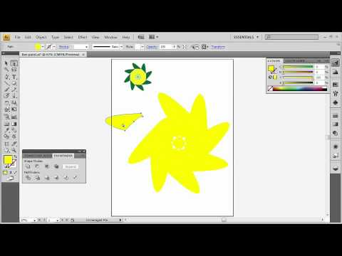 Adobe Illustrator CS4 Advanced Create a Logo and Paint with Live Paint
