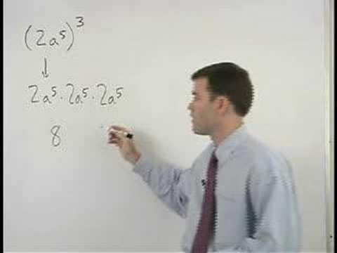 Power Rule - Multiplying Exponents - YourTeacher.com