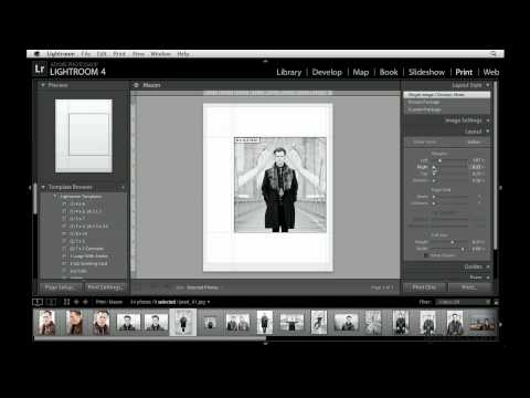 Photoshop Lightroom, Lightroom: Customizing the layout of a single image | lynda.com