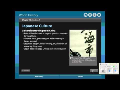 Review- Chapter 12 Section 4 - Feudal Japan.wmv