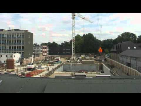 Construction progress, Aug 2011 - Darcy