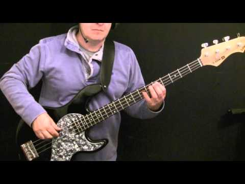 Learn How To Play Bass Guitar - Cocaine - Carl Radle