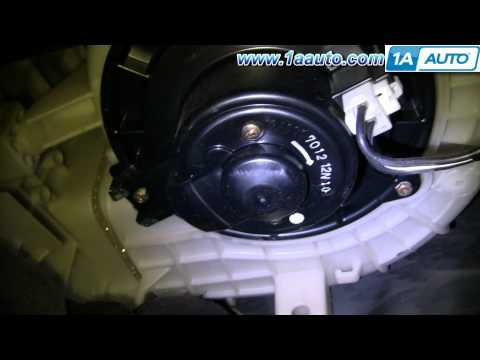 How To Install Replace Heater AC Blower Fan Motor Toyota Camry Avalon Lexus ES300 92-99 1AAuto.com