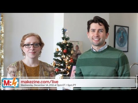Make: Live's Holiday Giveaway (ep22 preview)