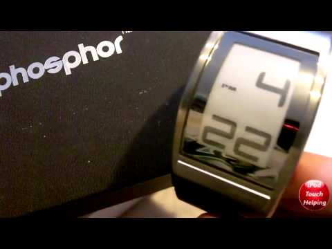 Phosphor Giveaway Winner! E ink Watch!
