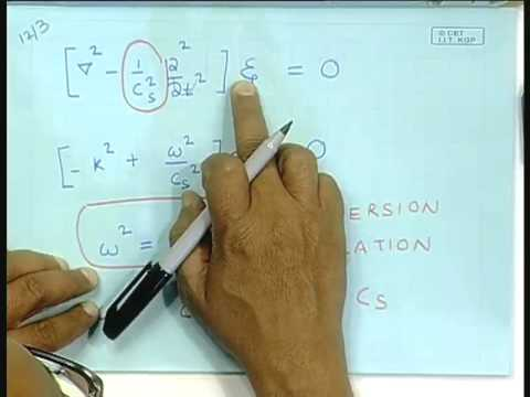 Lecture - 27  Solving the Wave Equation