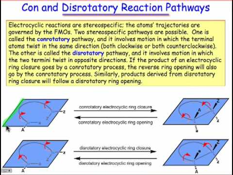 Electrocyclic Reactions are Stereospecific (8.2)