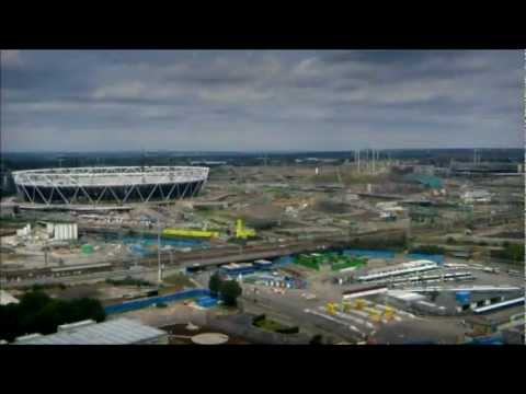 London 2012 Olympic Park time-lapse video