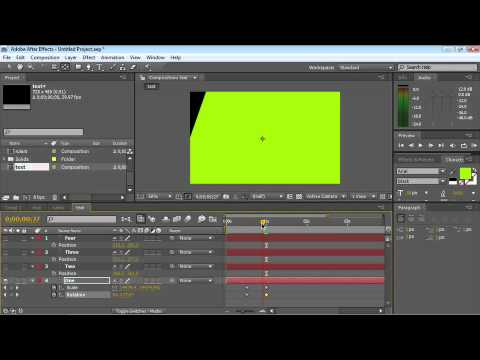 After Effects CS4 Essentials Animation that Works with Any Vector File