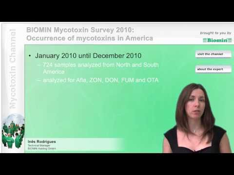 BIOMIN's Mycotoxin Survey 2010: Occurrence of mycotoxins in America