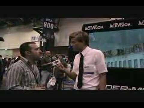 Geek Squad at NY Comic Con '08 - Spiderman: Web of Shadows