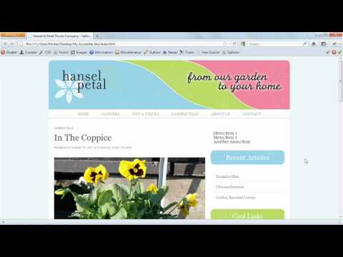 How to create a menu in HTML5 | lynda.com tutorial